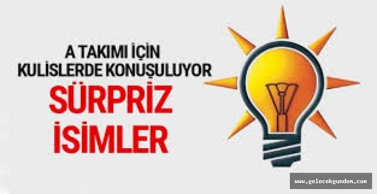 AKP'de yeni A Takımı iddiası: