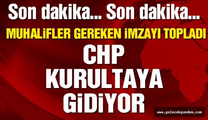 CHP'DE MUHALİFLER 630 YOLA ÇIKTILAR