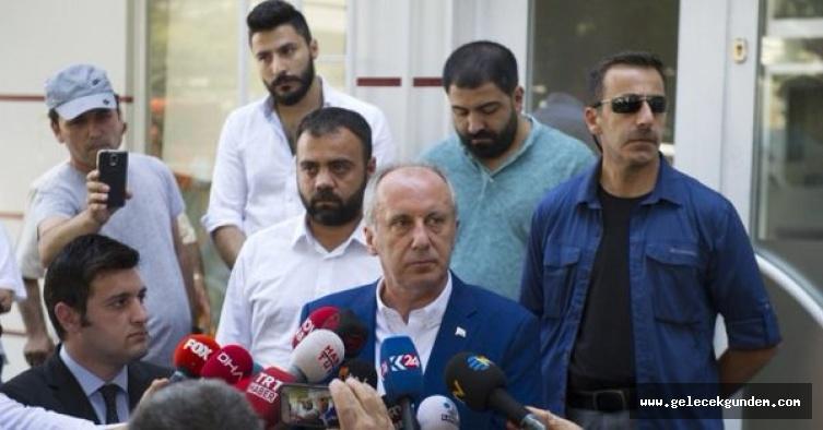 Muharrem İnce'den Mustafa Sarıgül'e cevap
