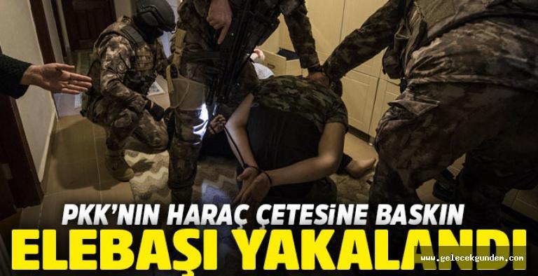 300 polisle PKK'nın haraç çetesine operasyon