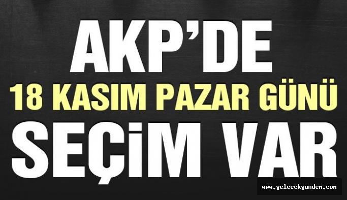 AKP'de temayül yoklamasının tarihi açıklandı!