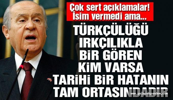 Devlet Bahçeli: Fabrika yakmak Türkiye'yi dinamitlemektir