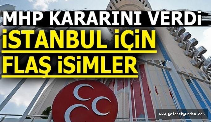 MHP'de İstanbul Adaylığı İçin İki İsim Üzerine Yoğunlaşıldı