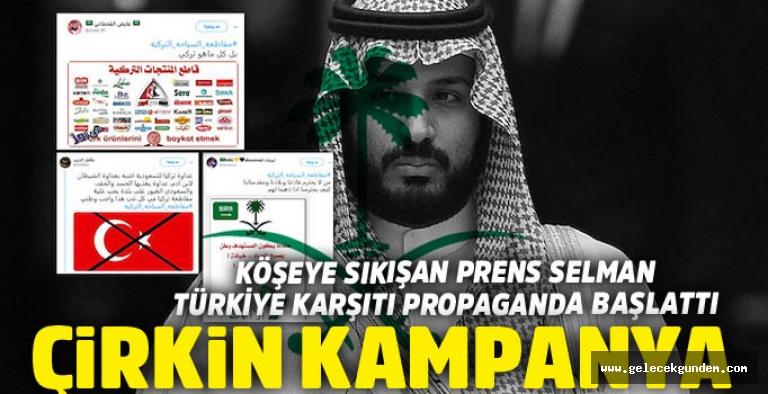Suudi Arabistan'dan Türkiye'ye çirkin kampanya