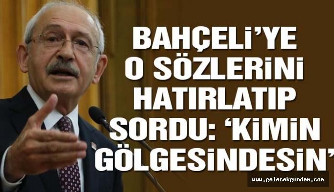 Kılıçdaroğlu: Saray'dan değil halktan yanayız