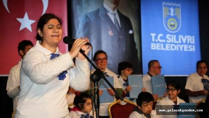 Silivri'de Engellilerin yaşam kaynağı müzik oldu!Teşekkürler Başkan  Özcan Işıklar