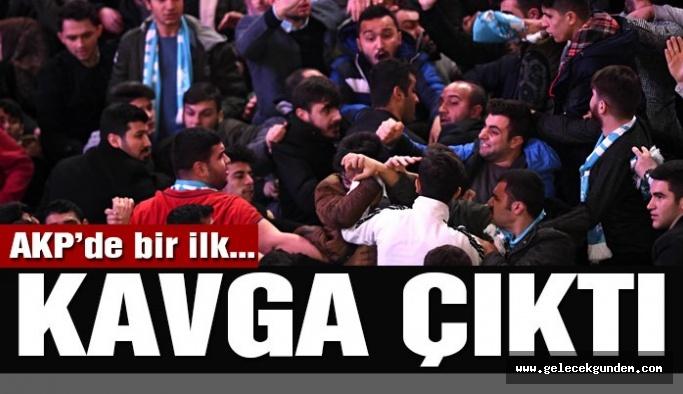 Son dakika… AKP'nin aday tanıtım toplantısı öncesi kavga çıktı