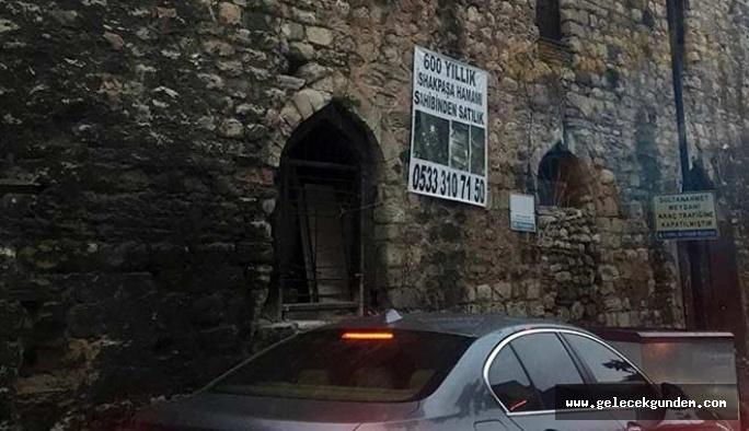 550 yıllık İshak Paşa Hamamı için kaç milyon dolar isteniyor?