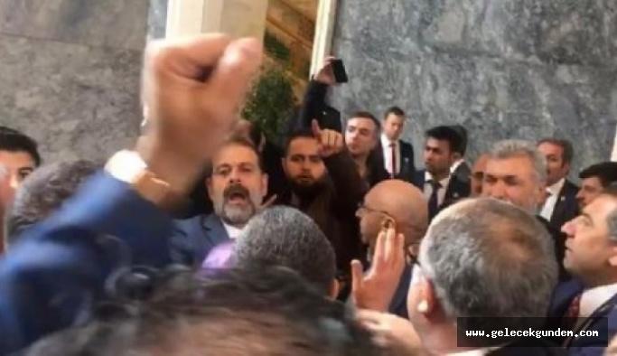 AKP'li vekilden Meclis'te çirkin saldırı!