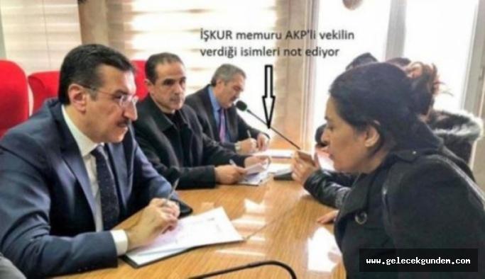 AKP toplantısında pes dedirten görüntü!