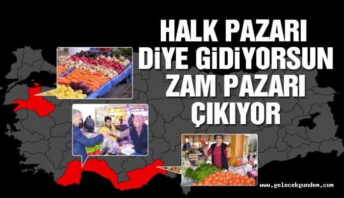 Anadolu'dan meyve ve sebze manzaraları
