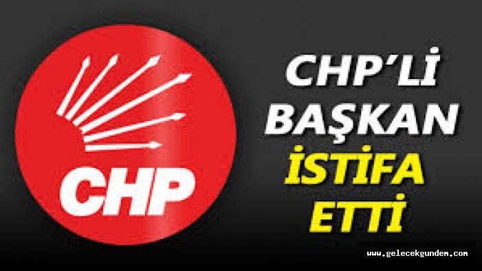 CHP'Lİ BAŞKAN PARTİSİNDEN İSTİFA ETTİ!