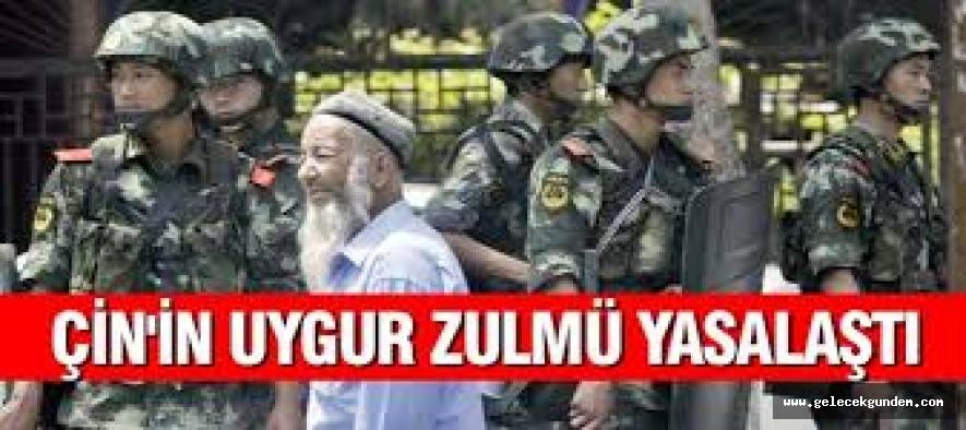 ÇİNLİ'LER UYGUR TÜRKLERİNİ ASİMİLE YASASI ÇIKARTTI!