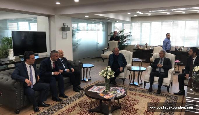İnce'den CHP'li başkana destek
