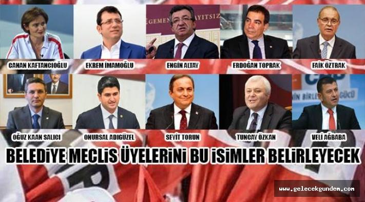 BELEDİYE MECLİS ÜYELİKLERİ BELİRLENİYOR!