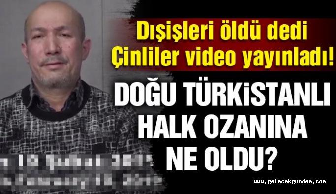 Çinliler, Türk Dışişleri'nin öldü dediği Heyit'in videosunu paylaştı