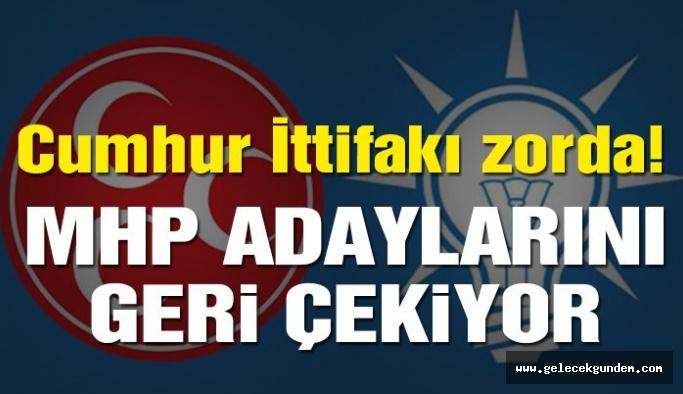 Cumhur İttifakı genişledi, MHP'li aday geri çekildi