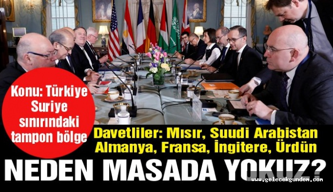 Washington'da toplantı içinde toplantı: Türkiye'ye yer yok!