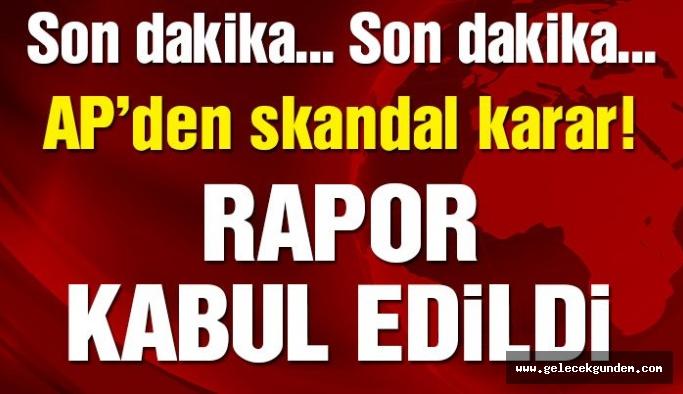 SON DAKİKA | AP'den Türkiye raporuna onay