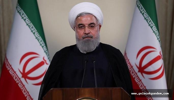 ABD'nin skandal kararına Ruhani'den sert yanıt: Siz sığınma verirken onlar savaşıyordu