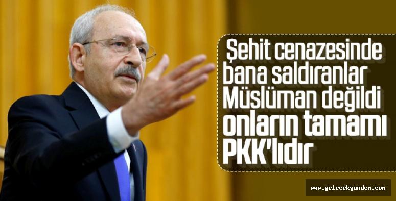 CHP Lideri Kılıçdaroğlu: Bana saldıranlar PKK'lıydı