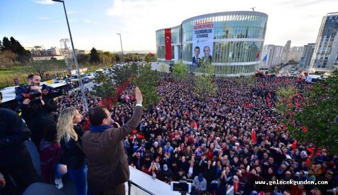 Ekrem İmamoğlu son noktayı koydu: ''Mazbatayı halk verdi !''