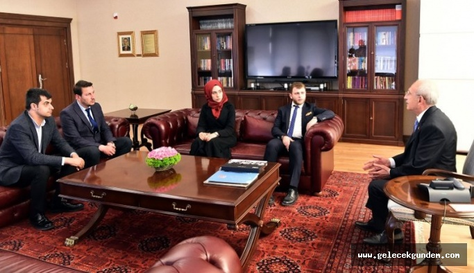 Genç İmamhatipliler Derneği'nden Kılıçdaroğlu'na ziyaret