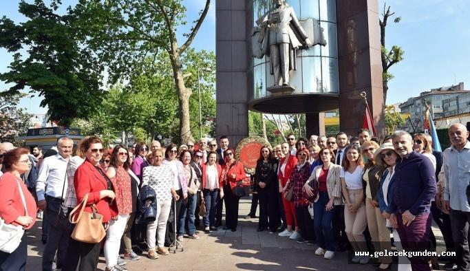 19 MAYIS COŞKUSU BEŞİKTAŞ'TA YOĞUN KATILIMLARLA YAPILIYOR!