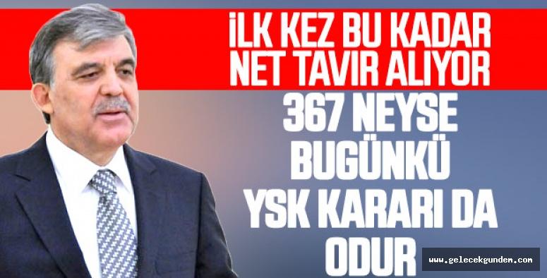 Abdullah Gül'den YSK'ya İstanbul eleştirisi