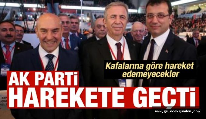 CHP 'Lİ BAŞKANLARA KISKAÇ!