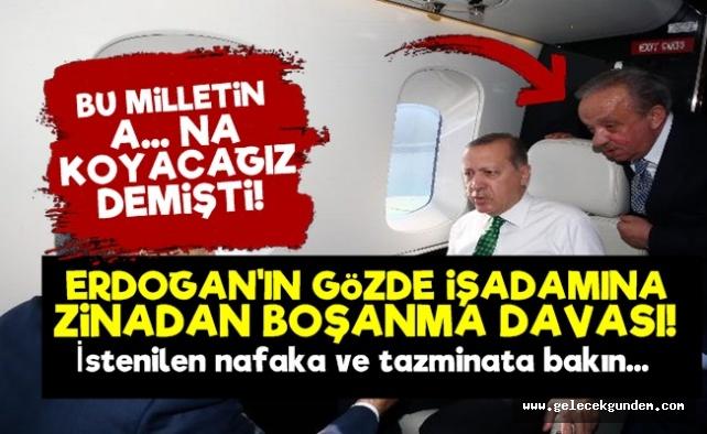 Cumhurbaşkanı Recep Tayyip Erdoğanı'ın yakın arkadaşı olan AKP'li İş İnsanı Mehmet Cengize 30 senelik eşi zinadan boşanma davası açtı.