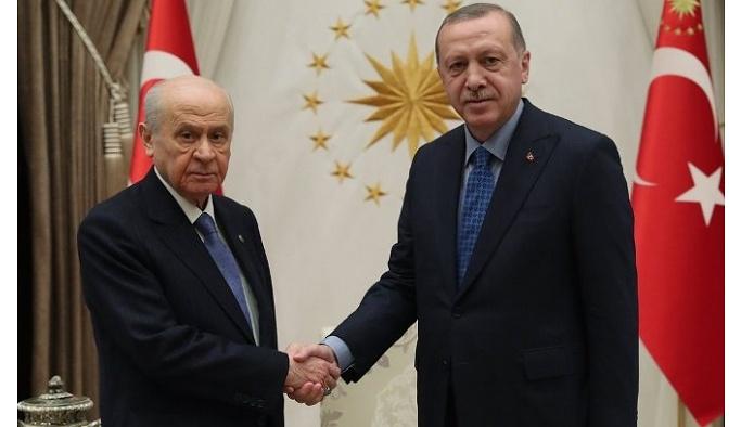Erdoğan'dan Bahçeli'ye 'Türkiye İttifakı' yanıtı