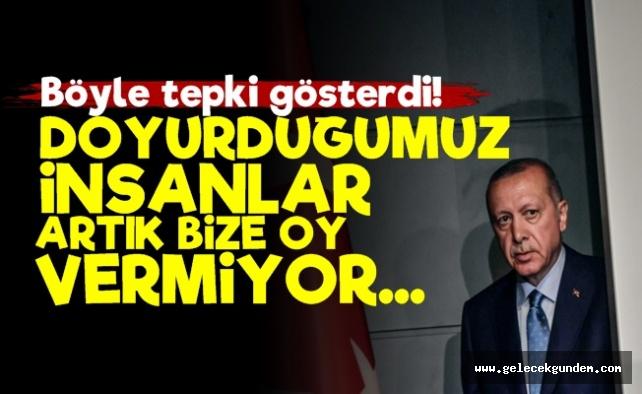 Erdoğan 'Doyurduk Ama Oy Vermediler...'