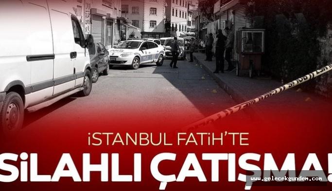 Fatih'te silahlı kavga: 1'i ağır 3 kişi yaralandı