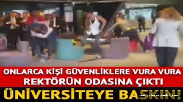 Haliç Üniversitesi'ne baskın!
