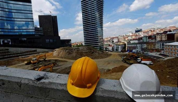 İlk üç ayda yapı ruhsatı verilen bina sayısı yüzde 42.5 daire sayısı yüzde 45.9 düştü