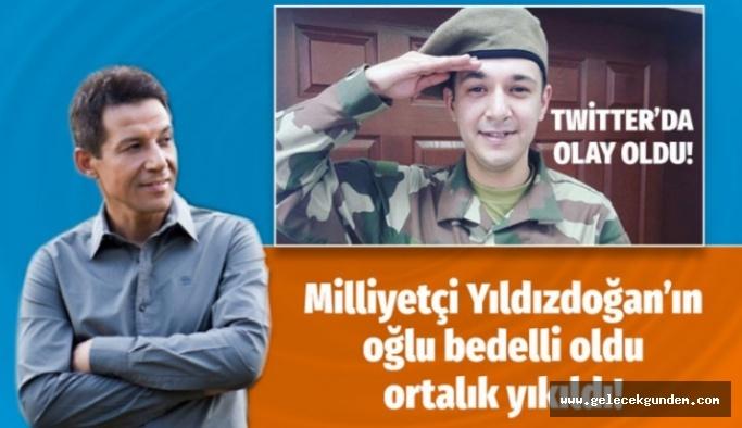 Mustafa Yıldızdoğan'ın oğlu Ahmet Yıldızdoğan bedelli oldu Twitter coştu