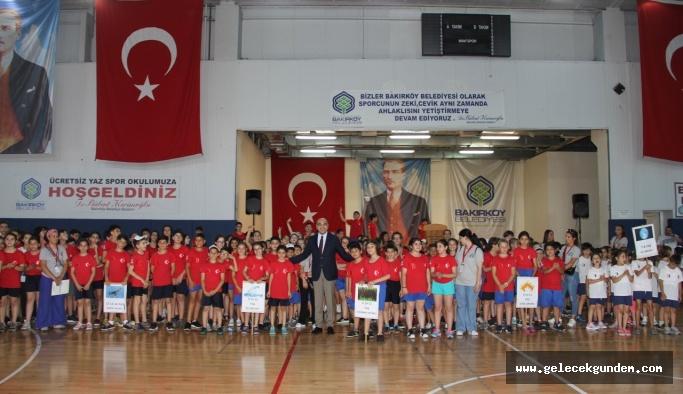 BAKIRKÖY'DE ÜCRETSİZ YAZ SPOR OKULLARI AÇILDI!