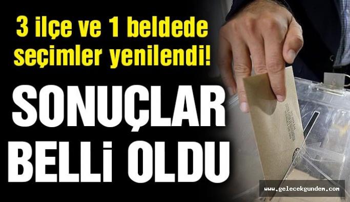 Honaz, Yusufeli ve Keskin ve Kesmetepe'de seçim sonuçları belli oldu!