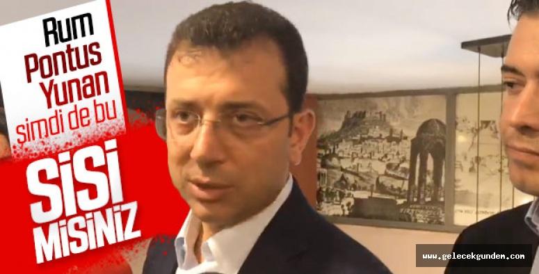 İmamoğlu, Erdoğan'ın 'Sisi' benzetmesine cevap verdi!