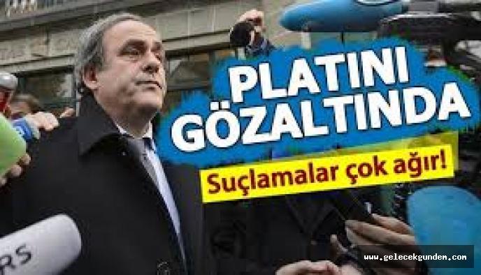 Katar Rüşvet vermiş ,Platini gözaltına alındı!