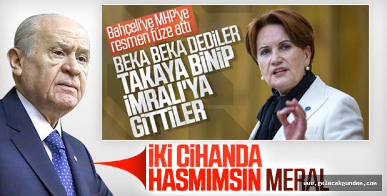 MHP LİDERİNDEN ,İYİ PARTİ'YE SERT AÇIKLAMA