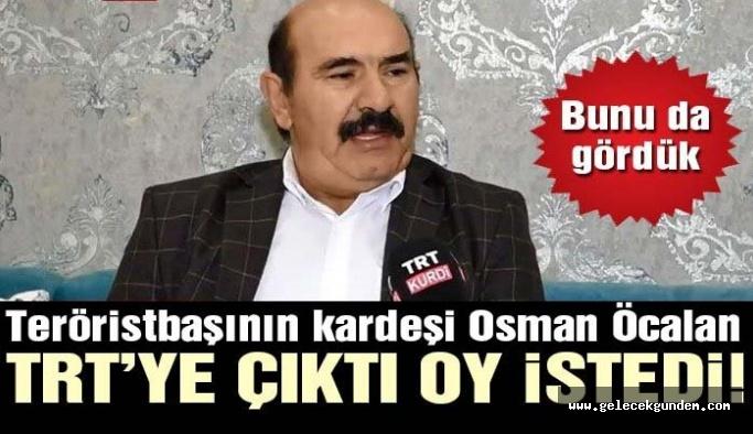 Türkiye bunu da gördü! TRT, teröristbaşı Öcalan'ın kardeşi ile röportaj yaptı