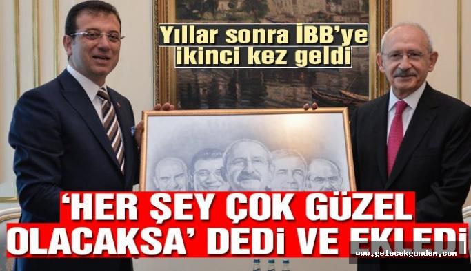 CHP Lideri Kılıçdaroğlu ilk kez İBB'yi ziyaret etti