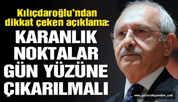 Kılıçdaroğlu: Cumhuriyeti gerçek bir demokrasi ile taçlandırmak zorundayız