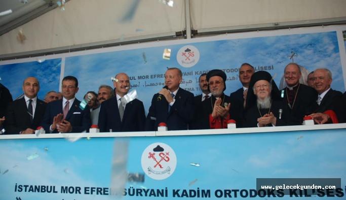 Bakırköy'de Cumhuriyet tarihinin ilk Süryani kilisesinin temeli atıldı.