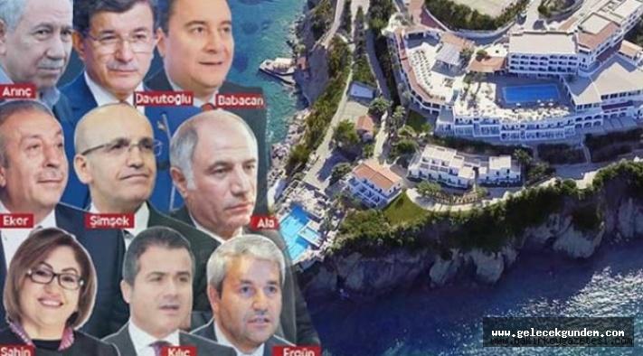 Fetö Firarisi İpek'in otelinde Davutoğlu, Arınç ve Babacan da konaklamış!