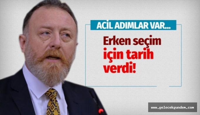 HDP Eş Genel Başkanı Sezai Temelli erken seçim için tarih verdi