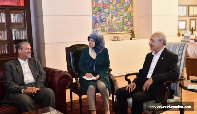 Kemal Kılıçdaroğlu, İran heyeti ile görüştü