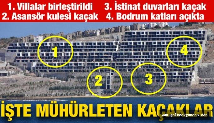 Yasal demişlerdi... İşte Bodrum The Bo Viera'daki kaçak yapılar